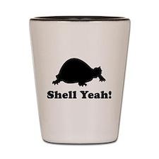 Shell yeah T-shirts Shot Glass
