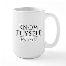 Know Thyself - Socrates Mugs