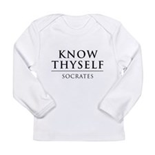Know Thyself - Socrates Long Sleeve T-Shirt
