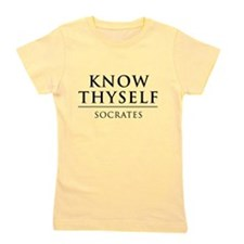 Know Thyself - Socrates Girl's Tee