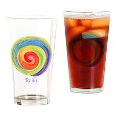 Unique Reiki Drinking Glass