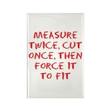 measure force Rectangle Magnet