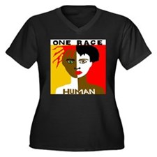 OneRaceHairgreeneyes Plus Size T-Shirt