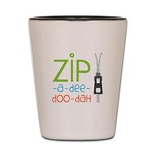 Zipper Zip Shot Glass
