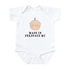 Made In Ferndale Infant Bodysuit