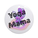 Yoga Mama Ornament (Round)