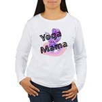 Yoga Mama Women's Long Sleeve T-Shirt