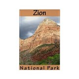 Zion National Park (Vertical) Rectangle Magnet