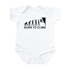 Evolution rock climbing Infant Bodysuit