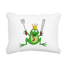 Funny Crown Rectangular Canvas Pillow