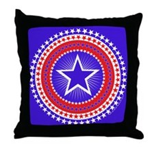 201 Star Radiance Throw Pillow