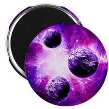 Purple Planet Art Magnets