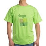 Yoga Baby Blocks Green T-Shirt