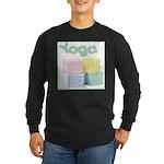 Yoga Baby Blocks Long Sleeve Dark T-Shirt