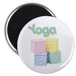 Yoga Baby Blocks Magnet