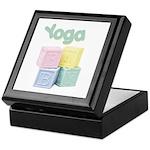 Yoga Baby Blocks Keepsake Box
