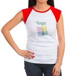 Yoga Baby Blocks Women's Cap Sleeve T-Shirt