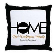 Tennessee Home Throw Pillow