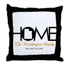 Utah Home Throw Pillow