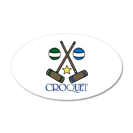 Croquet Wall Decal