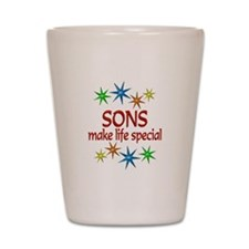 Special Son Shot Glass