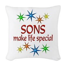 Special Son Woven Throw Pillow