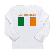 Cute Childrens irish Long Sleeve Infant T-Shirt