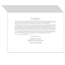 Rainbow Bridge Sympathy Cards (Pk of 10)