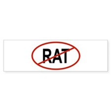 RAT Bumper Bumper Sticker