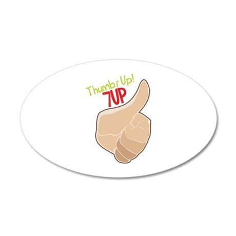 Thumbs Up 7Up Wall Decal