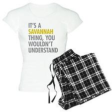 Its A Savannah Thing Pajamas