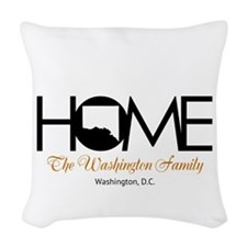 Washington, D.C. Home Woven Throw Pillow