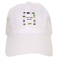 Entomology Rocks Baseball Cap