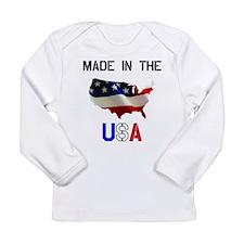 Made in USA.tif Long Sleeve T-Shirt