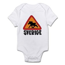 Sverige Elk Crossing Infant Creeper