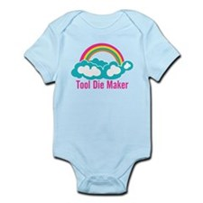Raibow Cloud Tool Die Maker Infant Bodysuit