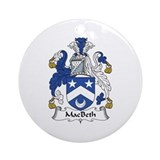 MacBeth Ornament (Round)