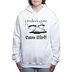 undercover-cam-girl.png Women's Hooded Sweatshirt