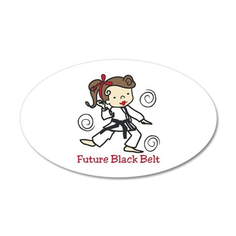 Future Black Belt Wall Decal