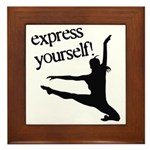Express Yourself Framed Tile
