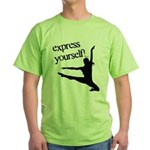 Express Yourself Green T-Shirt