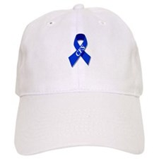 CFS Awareness blue ribbon Cap