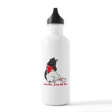 ratheartblkhd.png Water Bottle