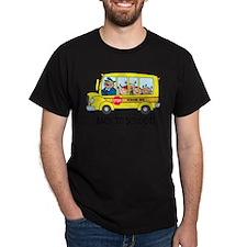 back to school cute school bus T-Shirt