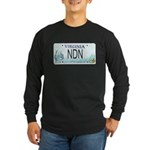 Virginia NDN Pride Long Sleeve Dark T-Shirt