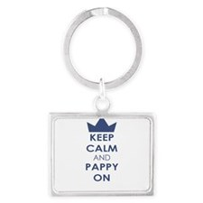 Keep Calm and Pappy On Keychains