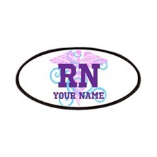 Rn Swirl With Personalized Name Patches