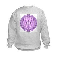 """""""Purple Lotus Mandala"""" Sweatshirt"""