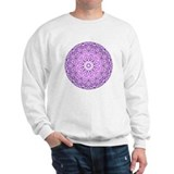 &quot;Purple Lotus Mandala&quot; Sweatshirt