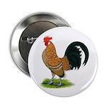 Dutch Bantam Rooster Button